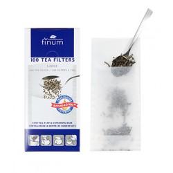 Фильтр-пакет для заваривания листового чая размер L (80шт)