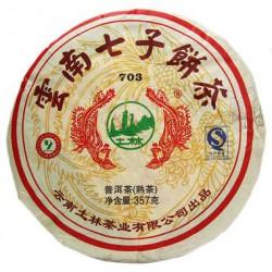Юннань Ки Цзы (шу) пуэр, 357 г